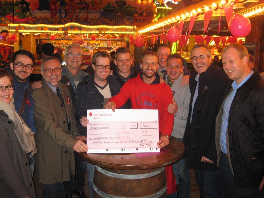 Scheck Aidshilfe 2015
