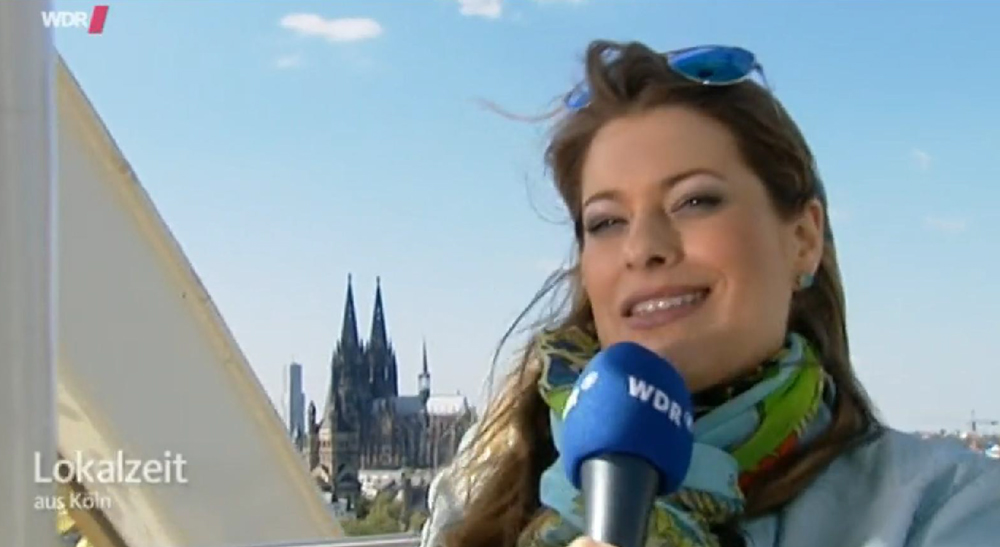 WDR-Moderatorin Manuela Klein